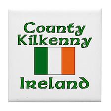 County Kilkenny, Ireland Tile Coaster