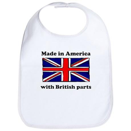 Made In America With British Parts Bib