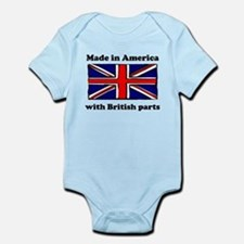 Made In America With British Parts Body Suit