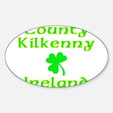 County Kilkenny, Ireland Oval Decal