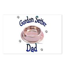 Gordon Setter Dad Postcards (Package of 8)
