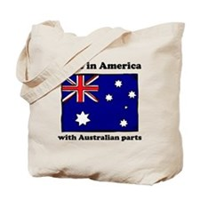 Made In America With Australian Parts Tote Bag