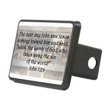 John 1:29 Hitch Cover