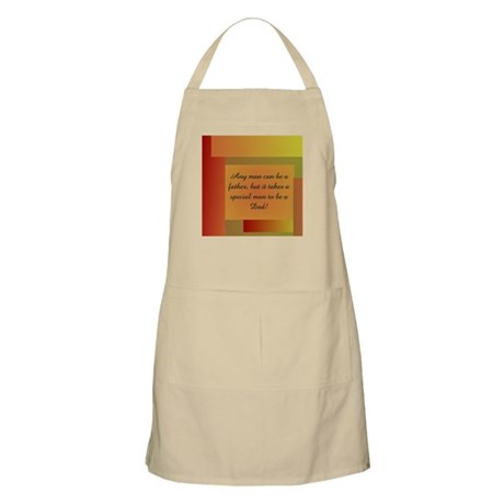 ANY MAN CAN BE A FATHER BBQ Apron