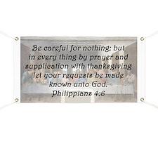 Philippians 4:6 Banner