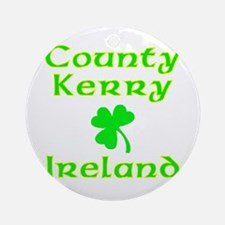 County Kerry, Ireland Ornament (Round)