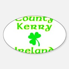 County Kerry, Ireland Oval Decal