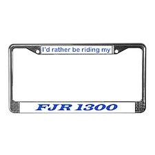 FJR1300 License Plate Frame