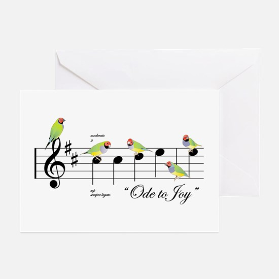 Finch JOY Holiday Greeting Cards
