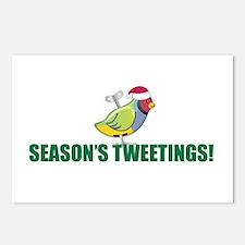 Season's Tweetings Holiday Postcards