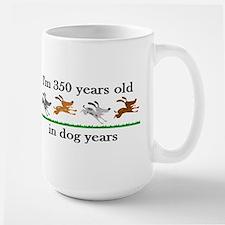50 dog years birthday 2 Mug