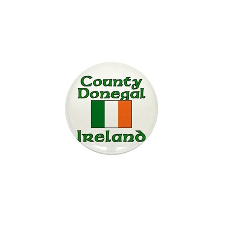 County Donegal, Ireland Mini Button (100 pack)