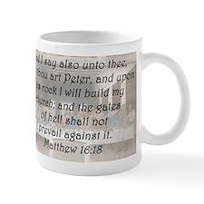 Matthew 16:18 Mug
