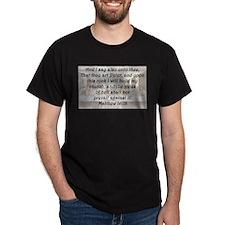 Matthew 16:18 T-Shirt