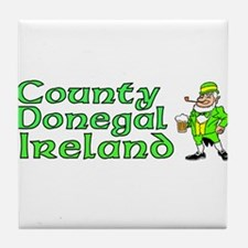 County Donegal, Ireland Tile Coaster