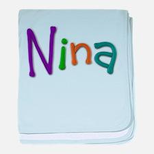 Nina Play Clay baby blanket