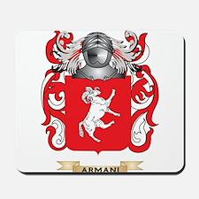 Armani Coat of Arms Mousepad