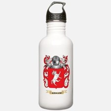 Armani Coat of Arms Water Bottle
