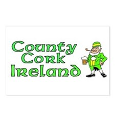 County Cork, Ireland Postcards (Package of 8)