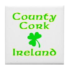County Cork, Ireland Tile Coaster
