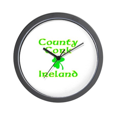 County Cork, Ireland Wall Clock