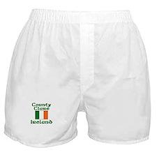County Clare, Ireland Boxer Shorts