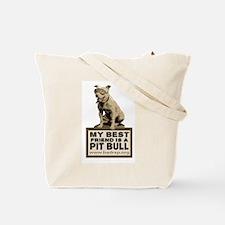 Vintage Best Friend Tote Bag