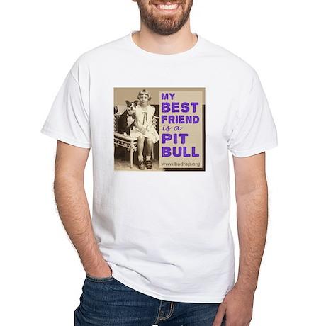 Vintage Best Friend White T-Shirt
