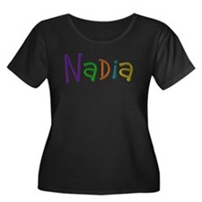 Nadia Play Clay Plus Size T-Shirt
