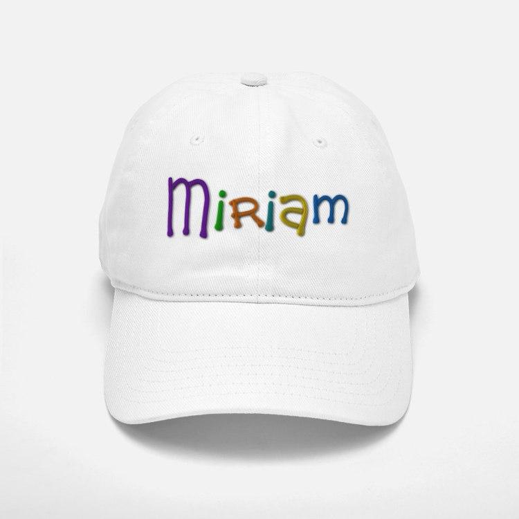 Miriam Play Clay Baseball Baseball Baseball Cap