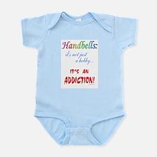 Handbell Addiction Infant Bodysuit