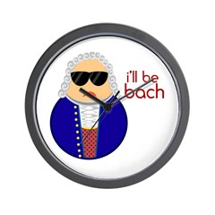I'll Be Bach! Wall Clock