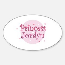 Jordyn Oval Decal