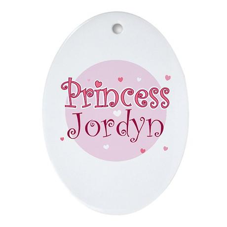 Jordyn Oval Ornament