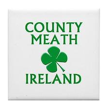County Meath, Ireland Tile Coaster