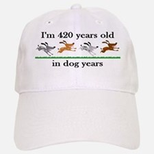 60 birthday dog years 2 Baseball Baseball Baseball Cap