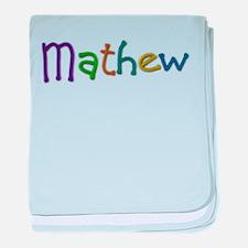 Mathew Play Clay baby blanket