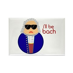 BACH Rectangle Magnet