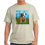 Puppy Dream Meadow Ash Grey T-Shirt