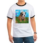 Puppy Dream Meadow Ringer T