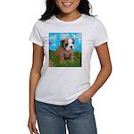 Puppy Dream Meadow Women's T-Shirt