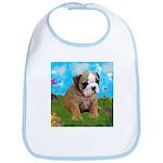 Puppy Dream Meadow Bib