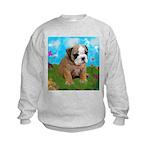 Puppy Dream Meadow Kids Sweatshirt