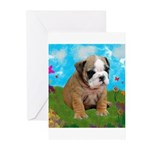 Puppy Dream Meadow Greeting Cards (Pk of 10)