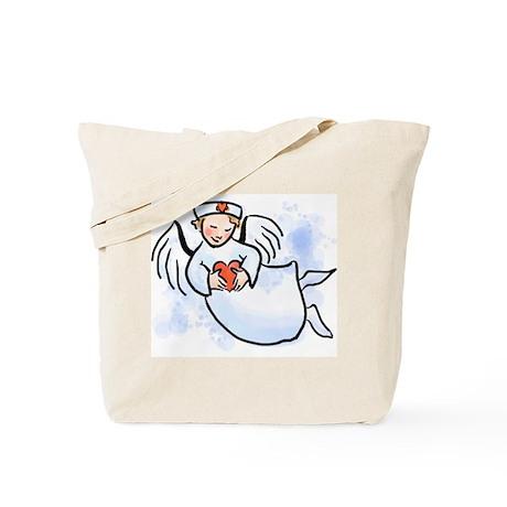Nurses Are Angels Tote Bag