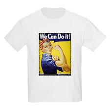 Vintage Rosie The Riveter Kids T-Shirt