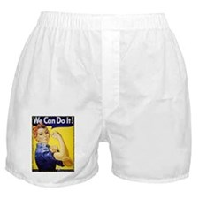 Vintage Rosie The Riveter Boxer Shorts