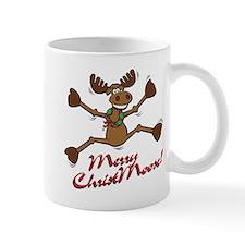 Merry Christmoose [jumping] Mug
