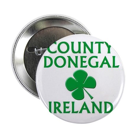 County Donegal, Ireland Button