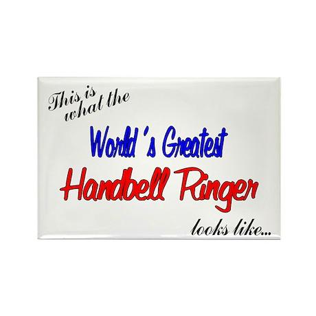 World's Greatest Ringer Rectangle Magnet (10 pack)